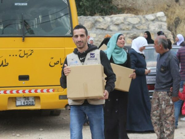 Charitable Ramadani day for Syrian refugee families