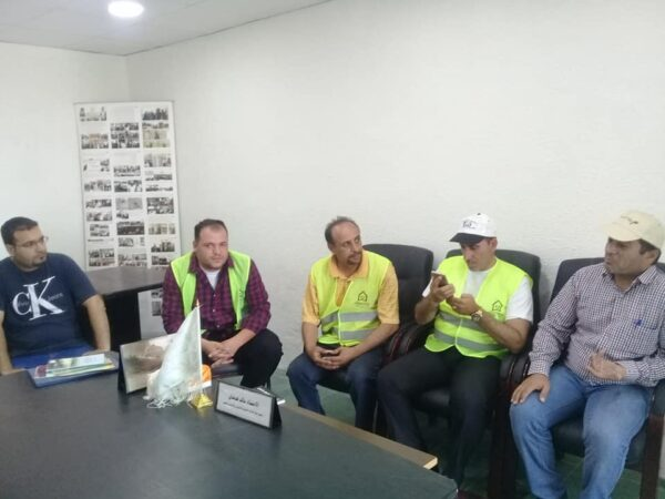 Al Badiya for Intercultural Dialogue CC participated in the National Campaign for Cleanliness
