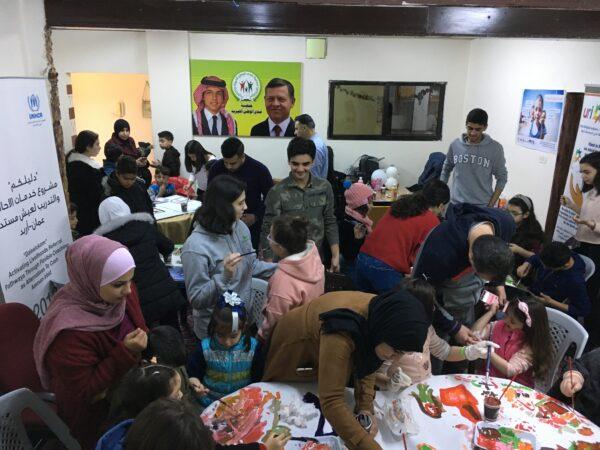 URI Jordan and Seeds of Peace celebrated World Interfaith Harmony Week 2019