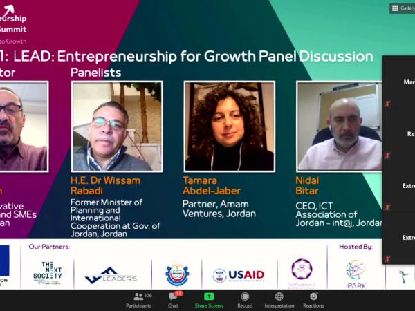 Jordan Entrepreneurship Summit – From Resilience to Growth, 15 & 16 December 2020