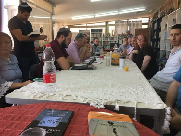 """News from the Wasatia CC – Jerusalem, a round-table discussion on """"The Need for Jewish-Islamic Interfaith Dialogue"""" Thursday, June 28, 2018"""