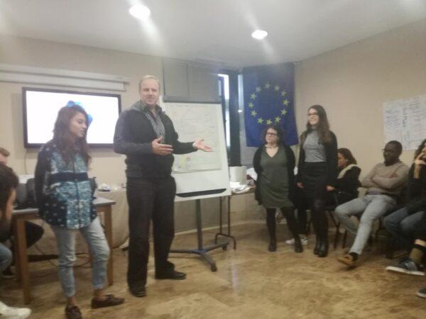 """""""Reuse & Save Water"""", Youth Exchange held in Madrid, Dec. 2018."""