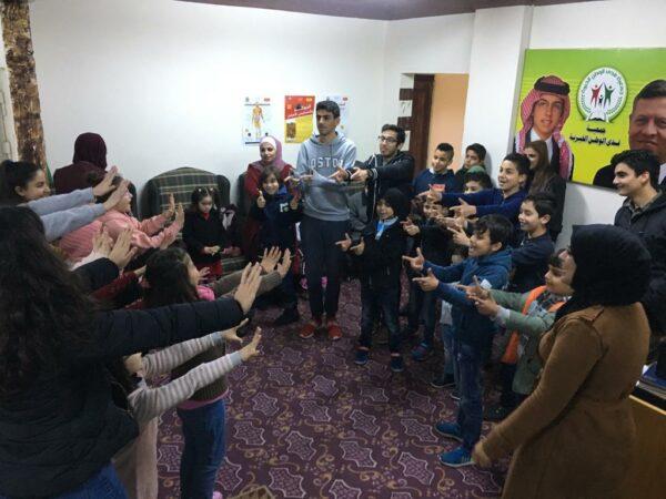 URI folks in Jordan celebrated the World Interfaith Harmony Week (WIHW)- 2019