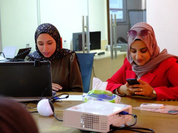 Anna Lindh Foundation runs woman-empowerment workshop: 7 women of the URI MENA community participated